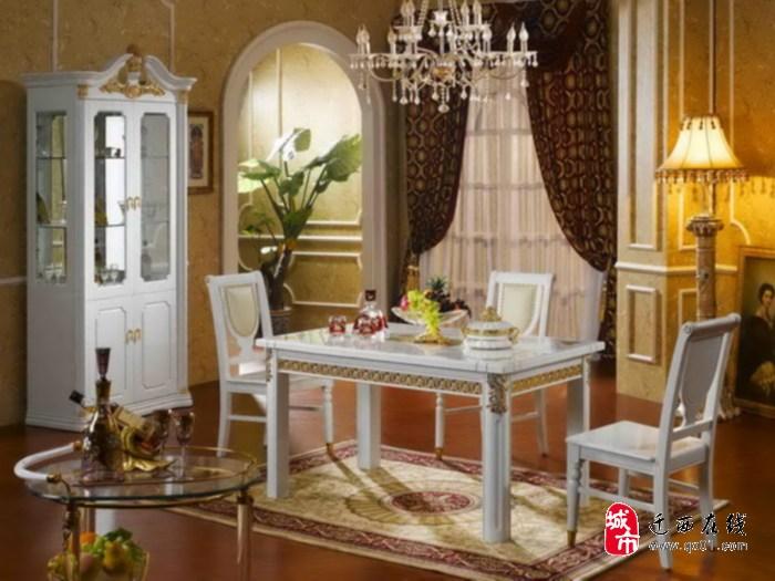 平安家具 爱芬堡欧式家具 西班牙皇家贵族风格 378款 餐椅; 平安家具