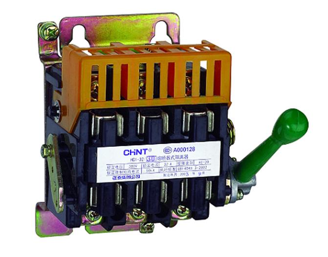 高短路电流的配电回路和电动机回路中作为电源隔离器