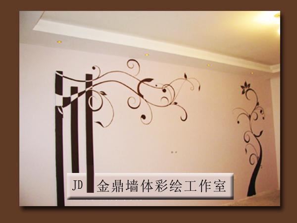 白山首家墙体手绘工作室(金鼎墙体彩绘工作室)
