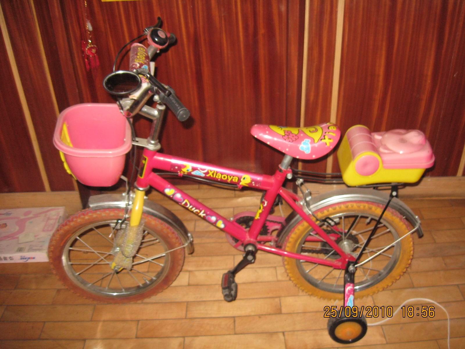 儿童自行车安装图儿童自行车安装图解