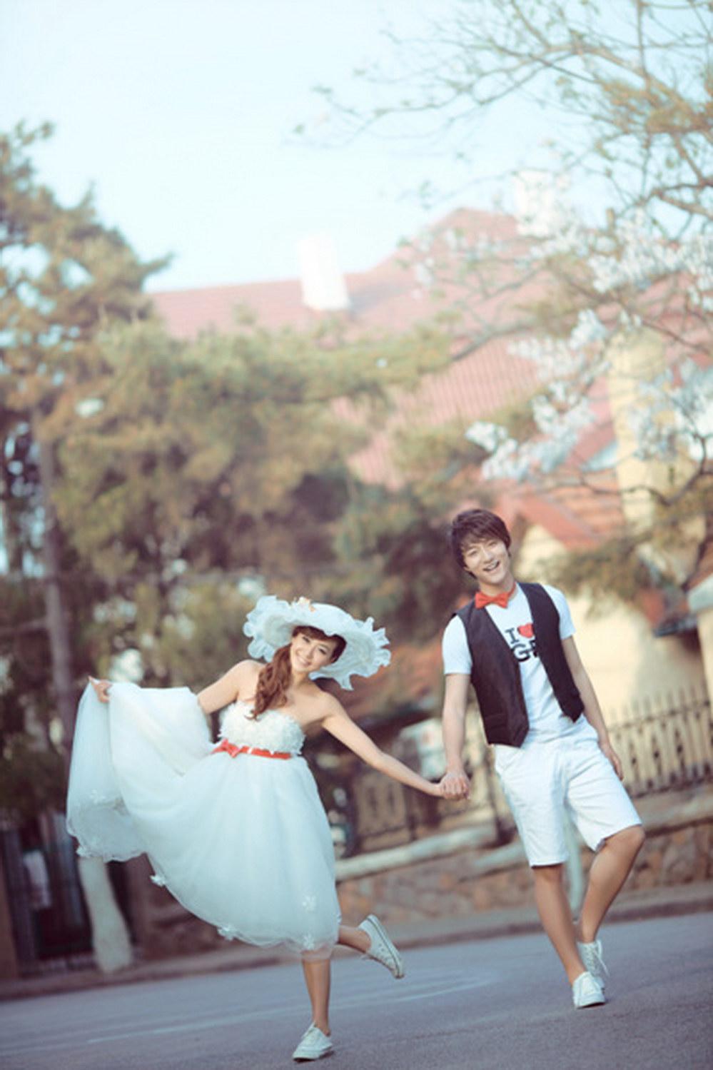 青岛八大关; 婚嫁街 精美相册