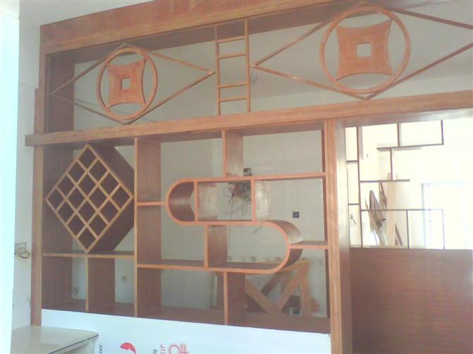 室内隔墙造型 隔墙装修效果图 客厅隔墙酒柜效果图