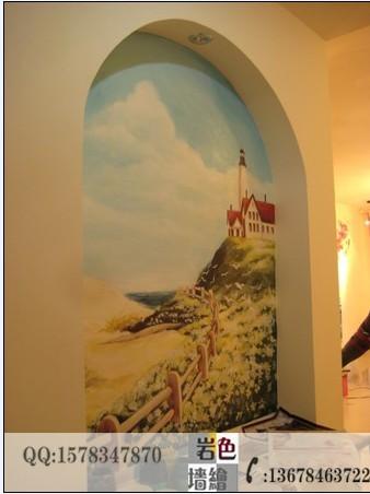 重庆手绘墙 墙体彩绘