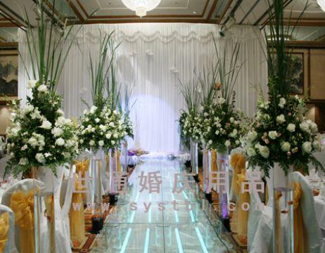 欧式鲜花柱样式