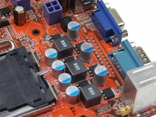 一个24针电源接口 供电模式 三相 主板附件 包装清单 梅捷主板&nbspx1