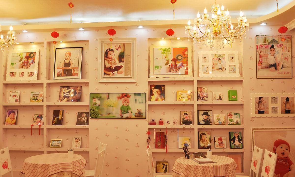 儿童摄影店,实景图 装修图满多 贵州格林童趣儿童摄影提供加