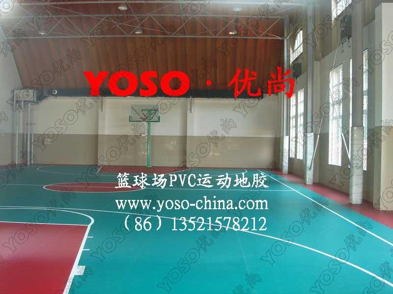 供应 篮球场运动地板,篮球场塑胶地板