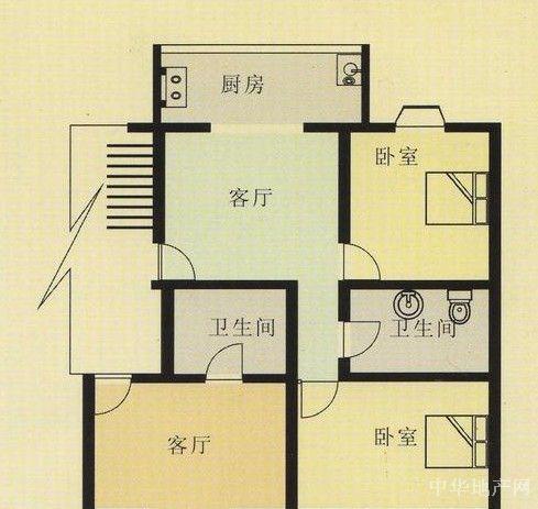 三单间楼房设计图