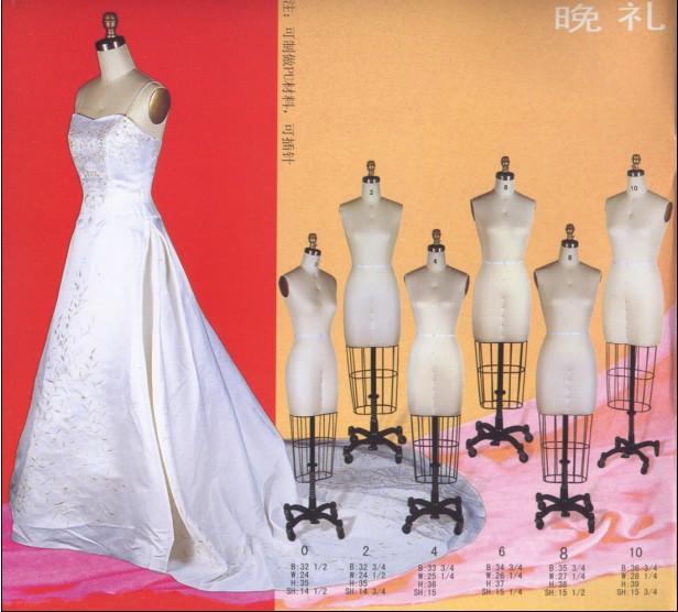 欧式婚纱礼服衣架
