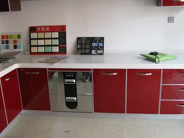 砖垒厨房灶台步骤图