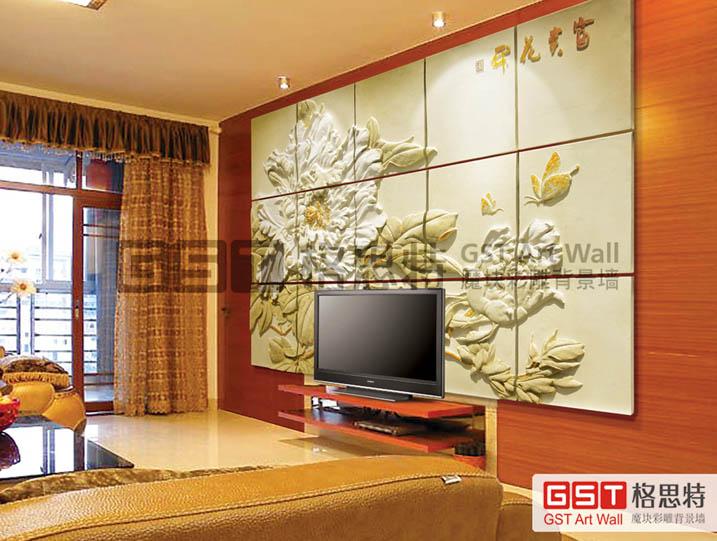 设计生产背景墙,隔断雕花板图片