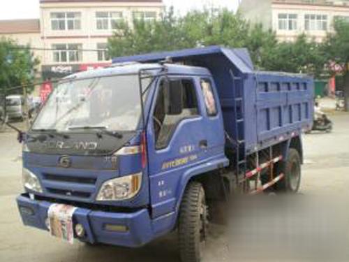 时代金刚608翻斗,2008年挂牌.发动机4108,轮胎82520,8成新高清图片