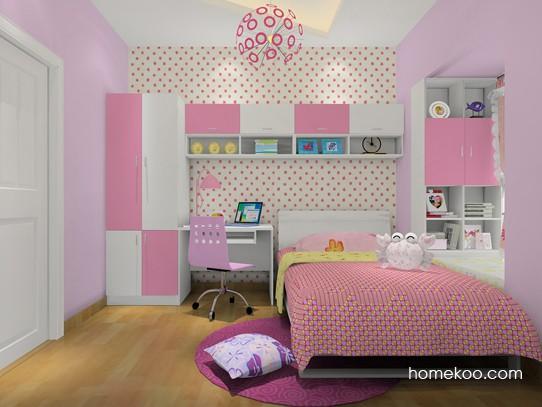 导读:女生们在卧室装修设计时对自己房间布置一定会有想法