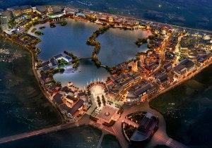 朝阳楼外·小桂湖 云南首个国际文化旅游综合体