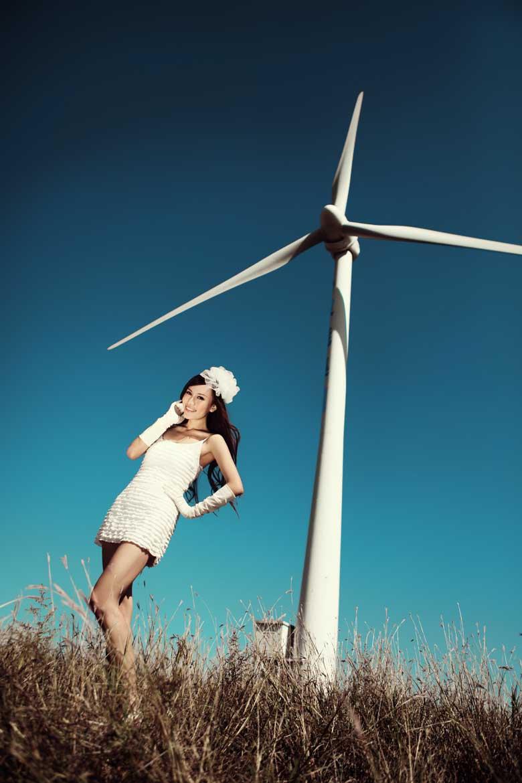 以风车为主的服装设计图