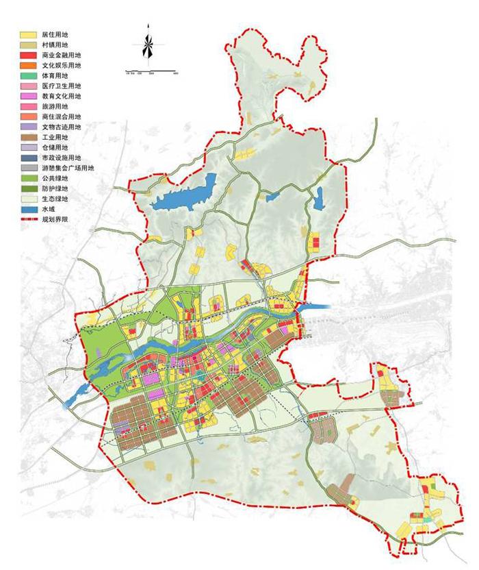 沈抚新城规划图(图)