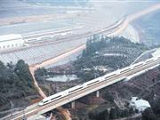 武广高铁今日9时开行第一趟列车