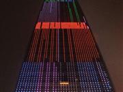首都最高建筑调试景观灯