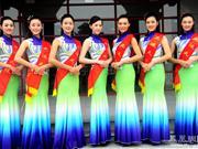 如夜店透视装   广州亚运会亚运天使颁奖旗袍被批太薄