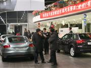 12月23日京城各4S店通宵购车