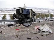 山西大同客�因雪后路滑翻�造成11死19��(�D)