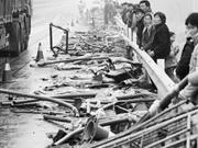 河南高速装数吨炸药货车爆炸 邻县震感强烈