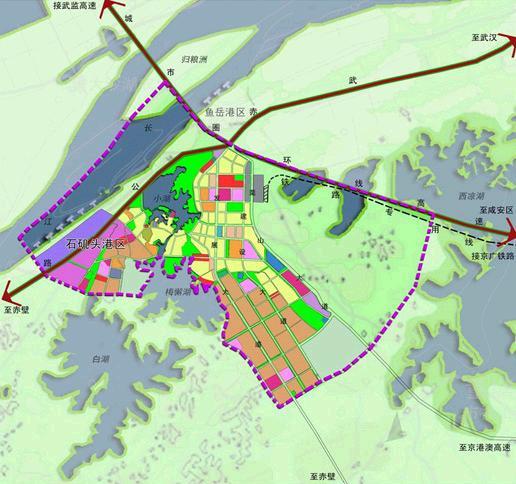 咸嘉临港新城咸嘉临港新城规划,咸宁热点,咸宁 高清图片