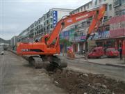 西丰县顺城路改造