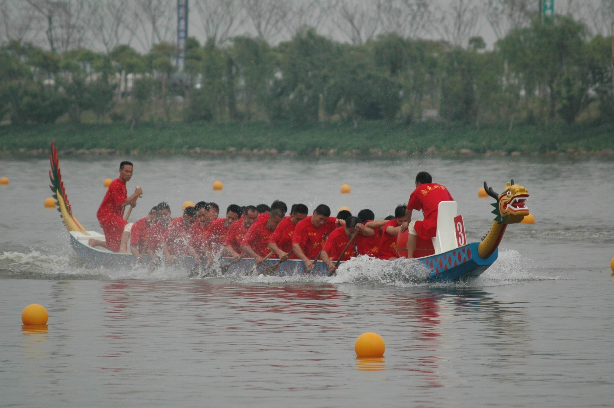 今年端午节 黔江区可看划龙舟