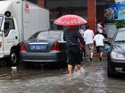 6月17日,突降暴雨,我县城排水系统告急!