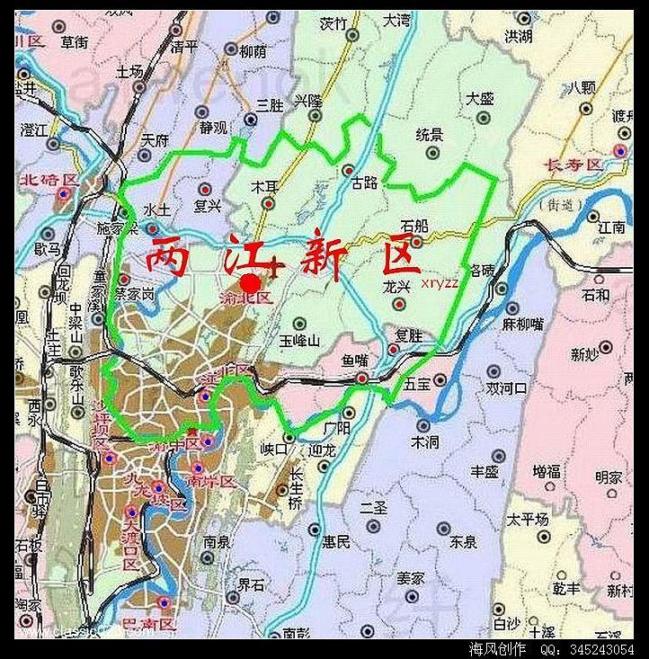 中国经济区 城市群地图