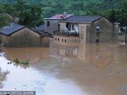 安徽池州突发山洪上万人被困