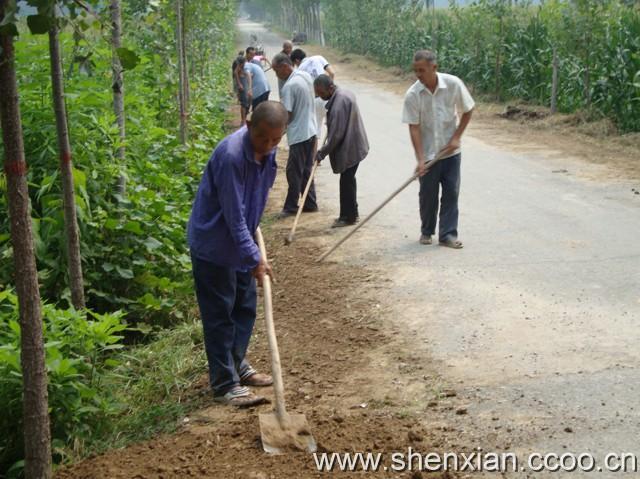 农村公路养护掀高潮