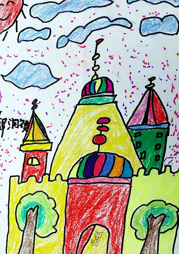 中班美术兴趣画展内容|中班美术兴趣画展版面设计