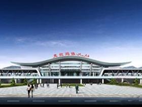 克拉玛依火车站10月20日投入使用