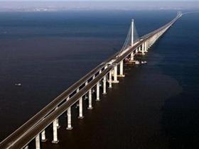 世界最长跨海大桥在青岛将建成