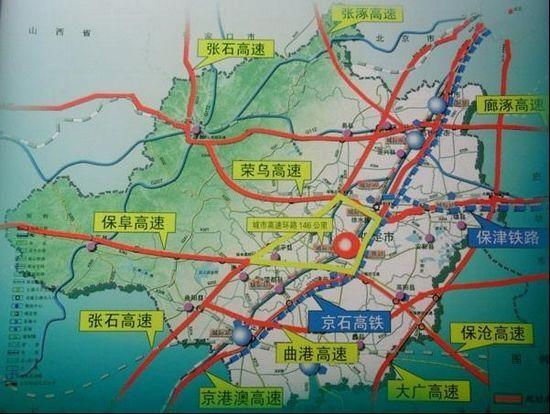 保定东部风景小区地图