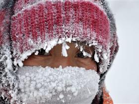 高清:内蒙呼伦贝尔出现-46.6℃极寒天气