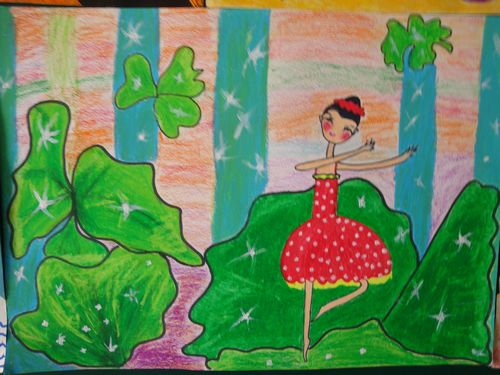 幼儿园元旦节画画作品分享展示