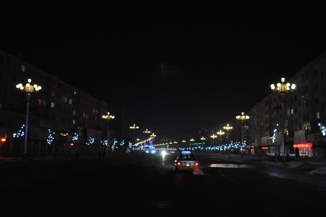 新夜景 兔年之朝阳镇朝阳大街