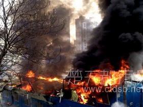武汉一日连发五起火灾