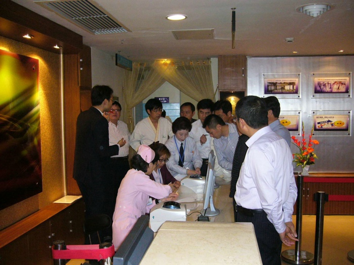 企业家代表赴沪健康体检