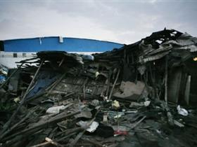广东佛山遭遇龙卷风袭击