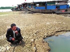 长江淮河旱情影响电煤运输或加剧电荒