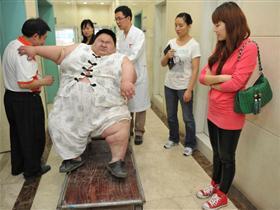 中国第一胖的烦恼生活