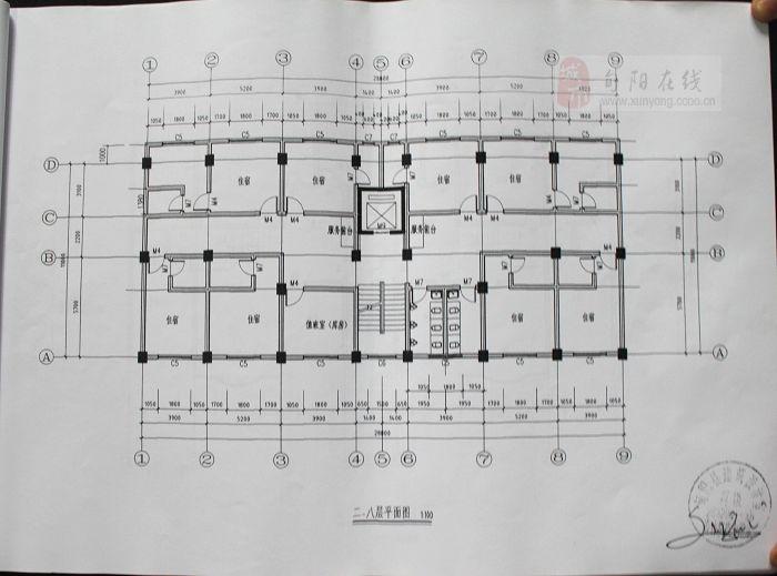 房屋平面图 建筑平面设计图
