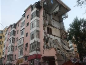 哈尔滨一栋6层居民楼发生垮塌事故