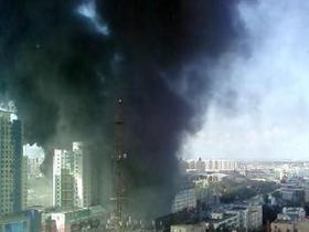 哈尔滨南通电脑城火灾已致3人死亡
