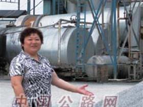 陕西汉中公路局干线公路巾帼写忠诚-郭秀玲