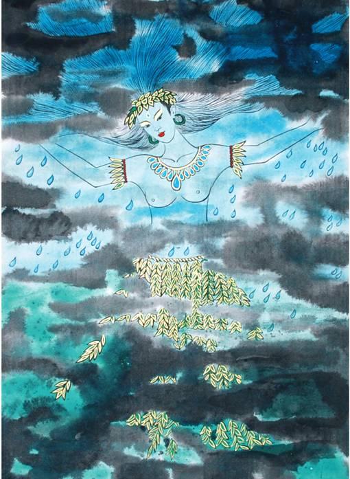 五年级海洋美术画画